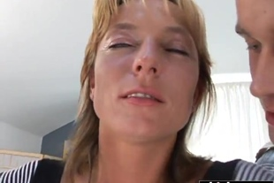 Sexy lady craves for a gangbang