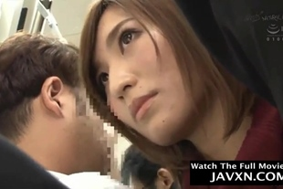 Japanese Babe Fucked On The Bus #2