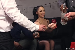 Husband with friends fucking wife