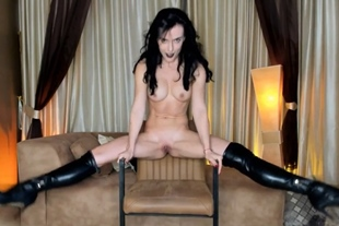AdySweet · Teases You Dressed In Long Leather Boots