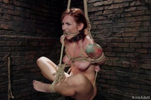 1203357 Clamped Body Redhead Slave Is Fucked