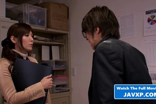 Japanese Office MILF Fucked By Her Boss