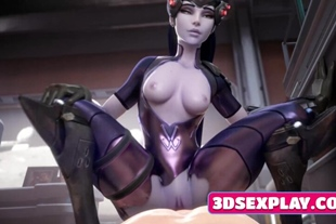 Cute Heroes from Game Overwatch Fucked