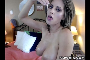 Incredible Butt Plugged Hooker Knows How To Suck A Dildo