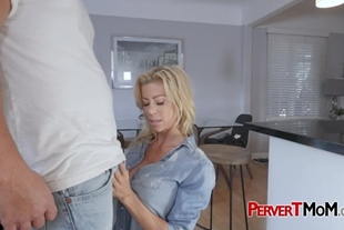 THICK fat cock smashing MILF's pussy doggystyle
