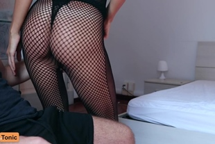 Cumtonic · Sensual Red Lipstick Blowjob With Huge Cumsh