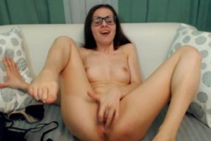 790278 Petite Brunette Barely Concealing Her Mouthwatering Pus