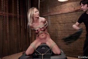 798323 Blonde Sub On Sybian And Cock Riding
