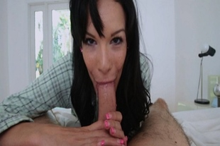 Eden Sins takes care of stepbros morning wood