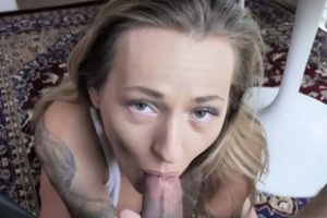 985826 Tatted Milf Stepmom Helps Son Forget With Tit Fuck