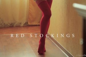 992967 Eternal Desire Abril C Red Stockings