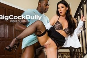 Bigcockbully India Summer Fucks A Big Black Cock Video