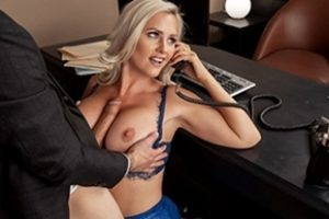 Bigtitsatwork Alena Croft Shes A Smooth Operator Video