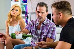 BigCockHero · Riley Steele is committed to husband