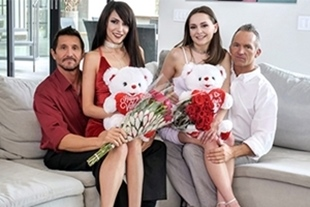 DaughterSwap · Valentines Day Daughter Orgy